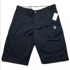 Volcom VMONTY Stretch Shorts AO9117V3 Black